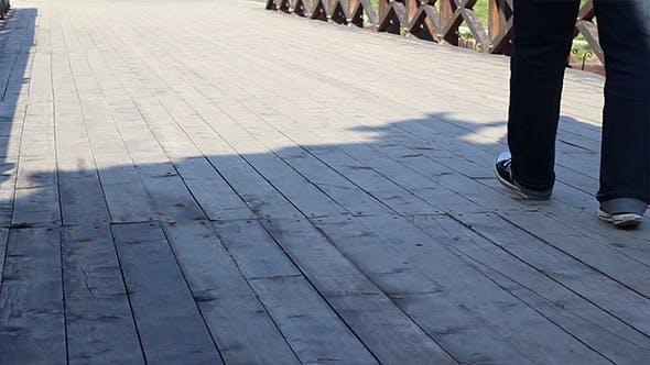 Thumbnail for Steps on Wooden Bridge