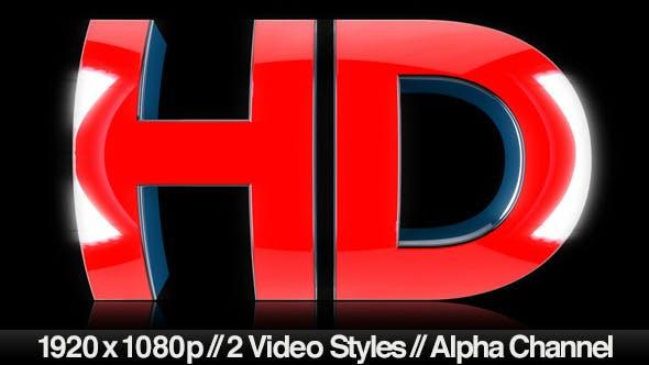 HD Text Symbol