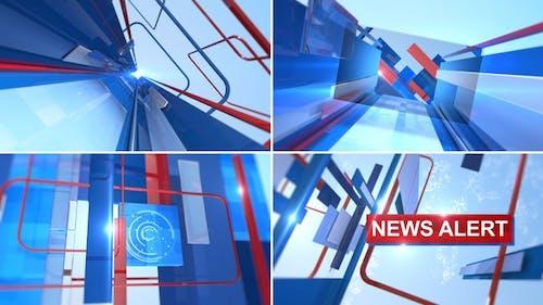 News Alert Opener Ident