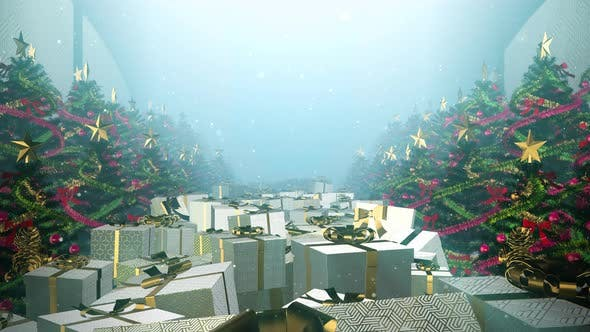 The Magical Of Christmas Gift  05 4K
