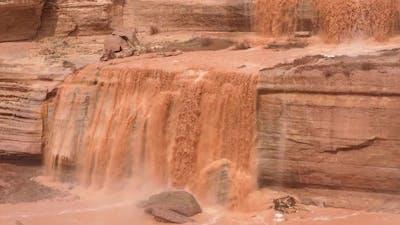 Grand Falls in Arizona