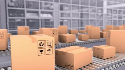 Logistics Transportation and Delivery Service of the Transport Company
