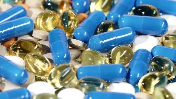 Thumbnail for Medizinische Pillen, Tabletten und Kapseln, Rotation