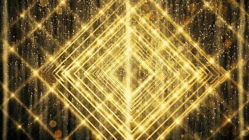 Gold Glitzer und Reflexion Lichter 09 HD