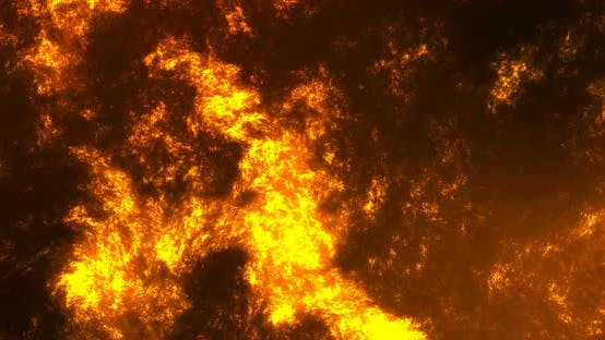 Thumbnail for Animation Lava Lake Volcano Abstract Background