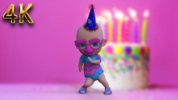 Party Baby Dance - 4K