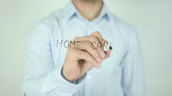 Thumbnail for Home Care, Writing On Screen