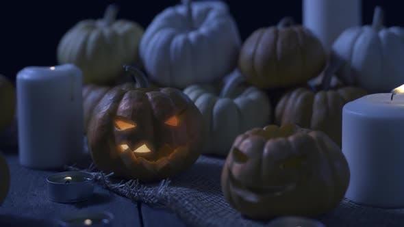 Thumbnail for Spooky Halloween Pumpkins