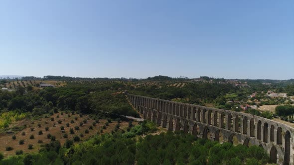 Thumbnail for Aqueduct Aerial Footage