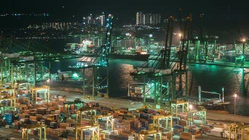 Shipping Cargo Port