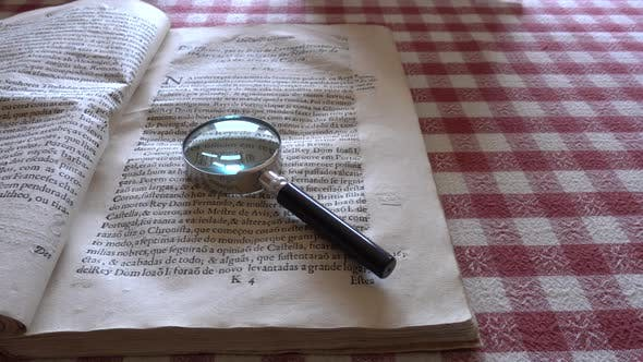 Thumbnail for Bookkeeping With Magnifying Glass