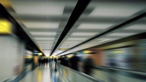Flughafen Hyperlapse