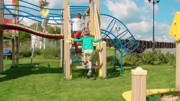 Thumbnail for Running to a Playground