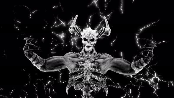 Thumbnail for The Hell Creature VJ Loop