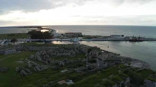 Thumbnail for Santa Maura Mediaeval Fortress in Lefkada Island, Greece