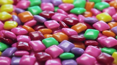 Chewing Gum of Different Colors. Background of Chewing Gum