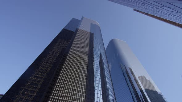 Thumbnail for Low angle view of skyscrapers