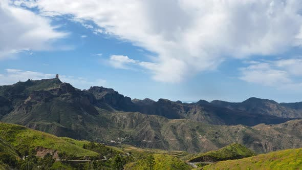 Thumbnail for Hyperlapse Clouds Over of Tejeda, Gran Canaria