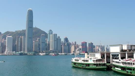 Thumbnail for Hong Kong cityscape at day time