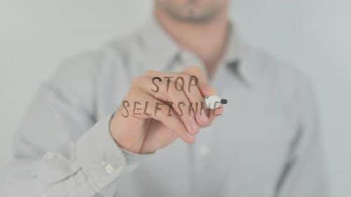 Stop Selfishness