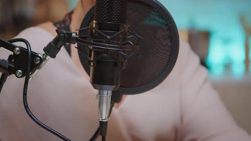 Aufnehmen von Stimme im Heimstudio