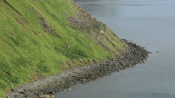 Thumbnail for Tilt up of the Isle of Skye coastline
