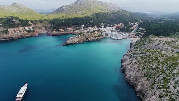Thumbnail for Aerial View of Boat at Seashore