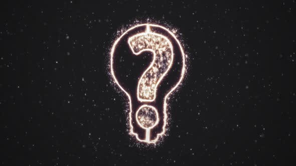 Thumbnail for Light Bulb with Question