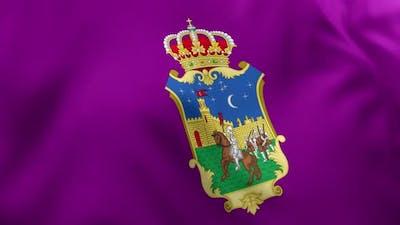 Guadalajara City Flag (Spain) - 4K