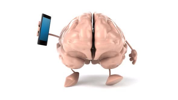 Thumbnail for Brain with phone