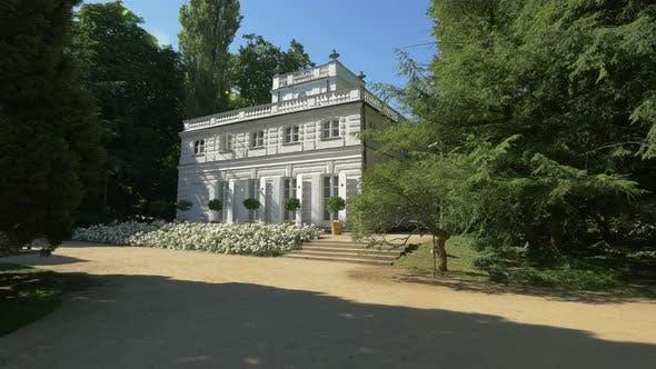 Little White House in Lazienki Park, Warsaw