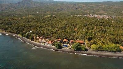 Sea Shore with Beach and Hotel Bali