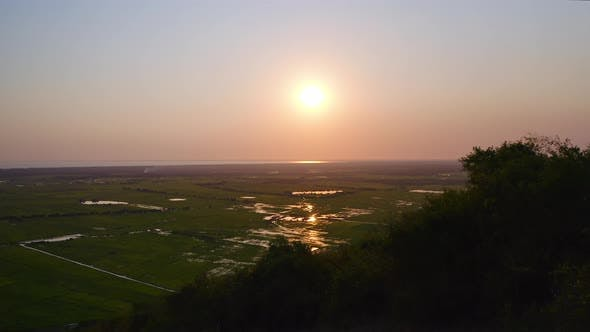 Thumbnail for Sunset Over Tonle Sap Lake