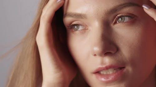 Antiaging Skincare Skin Rejuvenation Woman Face