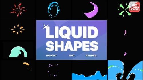 Liquid Shapes   Motion Graphics