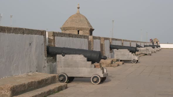 Thumbnail for Cannons on the City Walls of Cadiz