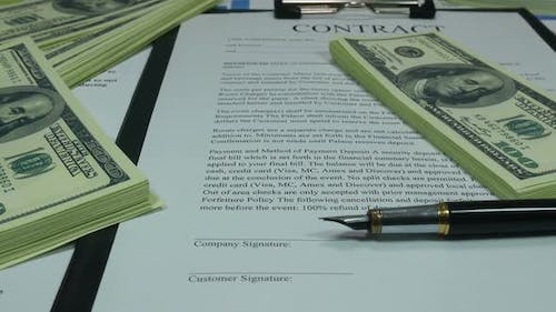 Contract And Financial Investments