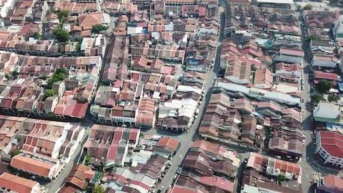 Luftaufnahme von Georgetown Heritage House.