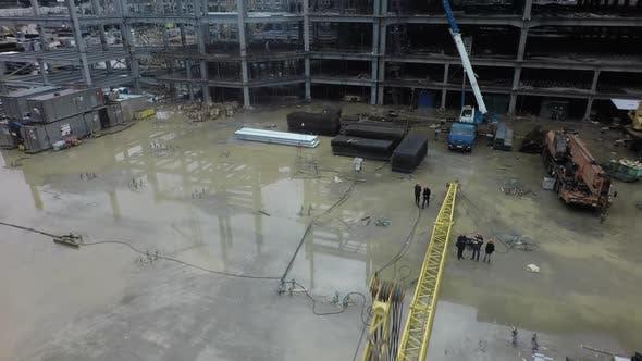 A Wet Construction Site