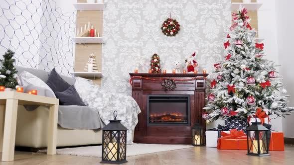 Thumbnail for Beautiful White Christmas Decor