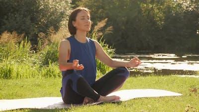 Yoga. Meditation