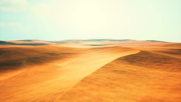Thumbnail for Aerial of Red Sand Dunes in the Namib Desert