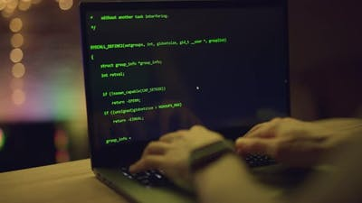 Close Up of Developing Programming and Coding Technologies
