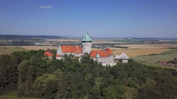 Thumbnail for Aerial View of Smolenice Castle, Slovakia