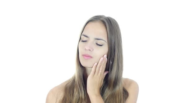 Thumbnail for Toothache, Woman Suffering From Pain In Teeth