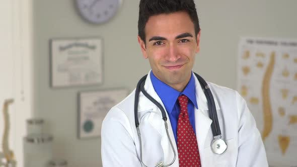 Thumbnail for Handsome Mexican doctor