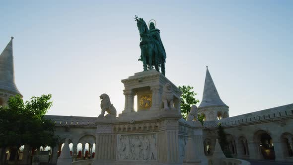 Thumbnail for The bronze statue of Stephen I of Hungary
