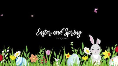 Easter and Spring Background