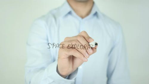 Space Exploration, Writing On Screen