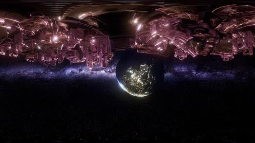 Thumbnail for Big Alien Mothership. VR 360 Virtual Reality